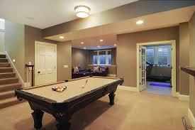 gameroom lighting. Large Game Room Designs Basement Traditional With Ceiling Mounted Lighting Incandescent Flush- Gameroom