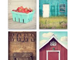 kitchen wall art set set of four prints or canvases country kitchen wall art country decor red and teal art prints primitive wall art on primitive kitchen wall art with rustic kitchen wall art set rustic kitchen print or canvas