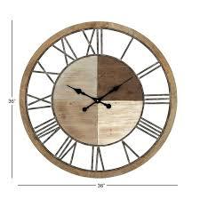 oversized metal wall clock wall clock oversized wood and metal wall clock inch wall clock kit wall clock large metal wall clock