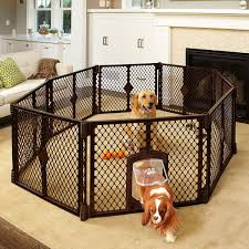 dog crates furniture style. amazoncom petyard passage 8panel pet containment with swinging door cages supplies dog crates furniture style n