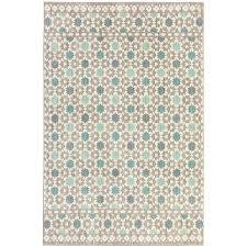 mohawk home cascade heights lattice tiles grey indoor inspirational area rug common 5 x