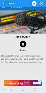 Tv N Radio(Single) App   Radio, Tv online streaming, Radio station