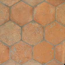 hexagon terracotta