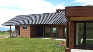 standing seam roofing dark bronze