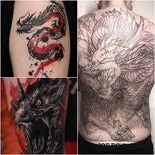 тату дракон мифы легенды и мощь драконов на вашем теле