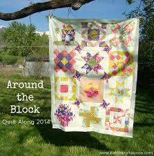 Around the Block | Quilt Sashing - & Around the block round robin quilt along Quilt Sashing layout Adamdwight.com