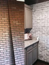 faux brick walls brick paneling
