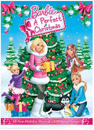 Barbie A Perfect Christmas DVD Review
