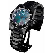 invicta men s excursion reserve mop quartz all black watch salma invicta men s excursion reserve mop quartz all black watch