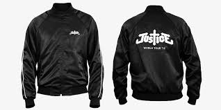 justice world tour custom made leather jackets
