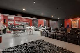 Reputable Ultimate Man Cave As Wells As Minneapolis Luxury in Garage Man  Cave