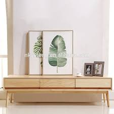 Wooden Led Tv Stand Furniture With Showcase Wooden Led Tv Stand