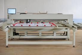 Auto Duvet Single Needle Quilting Machine Computerized , 1500 GSM & China Full Auto Duvet Single Needle Quilting Machine Computerized , 1500  GSM supplier Adamdwight.com