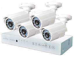 <b>Комплект видеонаблюдения IVUE</b> D5004-AHC-B4 4 камеры ...