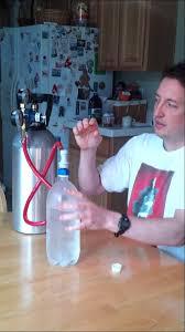 homemade seltzer water soda carbonation kit