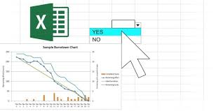 Burndown Chart Formula How To Create Interactive Excel Charts With The Index Formula