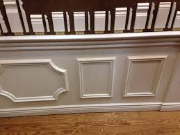 chair rail wainscoting. \u0027Real\u0027 Wainscoting OR Faux (wall Frames Plus Chair Rail)? Rail O