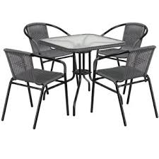 Outdoor metal chair Silver Quickview Birch Lane Patio Dining Sets Youll Love Wayfair