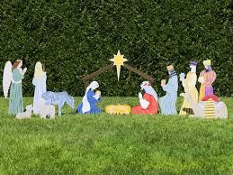home outdoor nativity sets the complete nativity 1