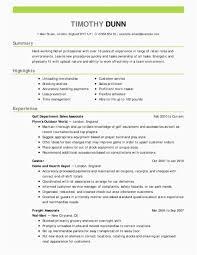 Good Resume Da C Examples Good Resumes Fresh How To Fix Resume New Good Resume