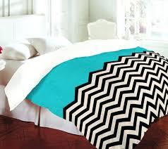 black and white chevron bedding chevron bedspread turquoise black white chevron bedding