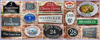 personalized house signs for your home