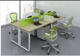 office desk workstation. China 4 Person Melamine Staff Desk/Particle Office Table/Office Desk Workstation R