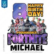 Heat Transfer Designs Fortnite Heat Transfer Design Happy Birthday