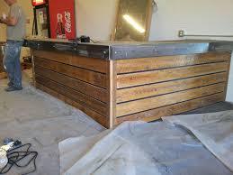 13 amazing wood pallet reception desk