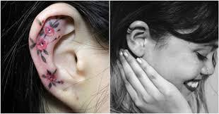 Galerie Miniaturní Tetování Na Uších Pro Jemné Duše Koulecz