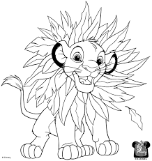 Small Picture Best Simba Coloring Pages 31 In Coloring Pages Online with Simba