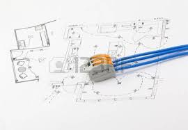 wiring diagram stock photos pictures royalty wiring wiring diagram the electrical connector wires on a background of the scheme