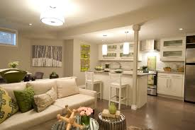 Kitchen And Living Room Designs The 6 Elements You Need For The Perfect Finished Basement Design