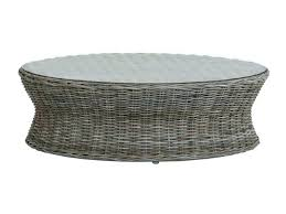 spacious round rattan coffee table wicker round coffee table round wicker
