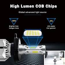 H7 LED Headlight Bulbs 6500k 12000LM Extremely ... - Amazon.com