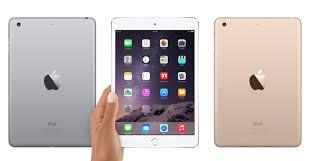ipad size comparison apple ipad mini 3 vs apple ipad mini 2 vs apple ipad mini size and