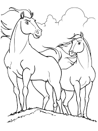 spirit horse coloring pages to print 09