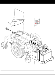 Page of pride mobility aid jazzy xl user guide pridemobility battery wiring diagram label