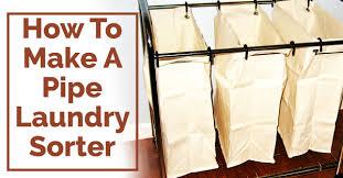 Diy laundry sorter White Laundry 15howtomakeapipelaundrysorterjpg Known Valley How To Make Pipe Laundry Sorter