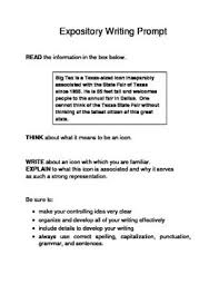 6th Grade Essay Prompts 10 Famous Texas Landmarks Expository Writing Prompts Staar