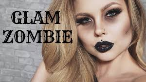 glam zombie makeup tutorial ft rimmel london quick and easy affordable makeup 2018