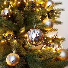 Weihnachtsbaumkugeln 48er Set Christbaumschmuck Weihnachtsbaumschmuck Baumkugeln