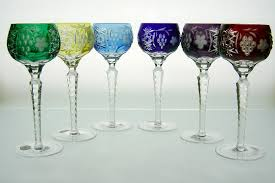 another picture of six colors another picture of six colors dark ruby red colored wine glass