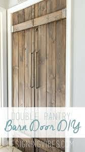 barn door pantry double pantry barn door under pantry door sliding barn door pantry