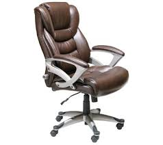 brown office chair. Contemporary Brown Serta Executive HighBack Office Chair Brown And Chair