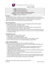 Lovely Program Coordinator Job Description Tesstermulo Com