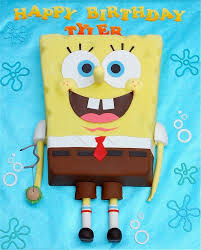 Spongebob Cakes Cupcakes Design Ideas On Craftsy