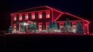 outdoor christmas lights house ideas. Image Of: Style C9 Christmas Lights Outdoor House Ideas