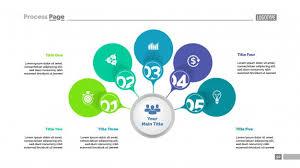 Five Options Strategy Process Chart Template Business Data