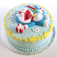 Order Doremon Cake Online Doremon Cake Delivery From Wish A Flower